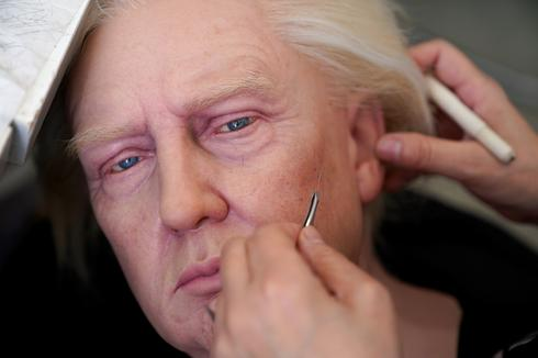 In China, Trump wax statue maker feels effect of coronavirus