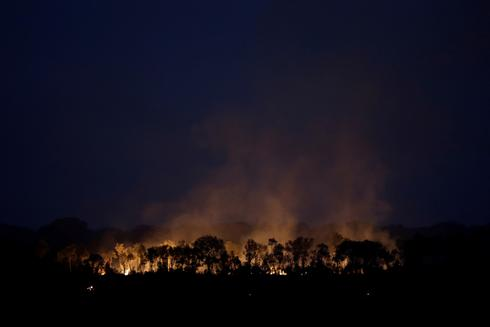 Amazon again under threat from fires