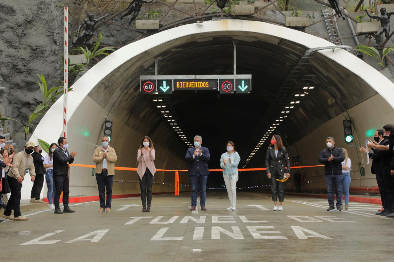 Colombia opens South America's longest road tunnel - Reuters