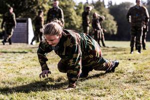 Belgium's crown princess starts military school