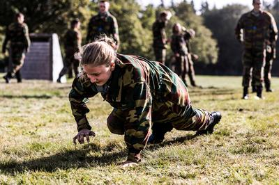Belgium's crown princess starts military school