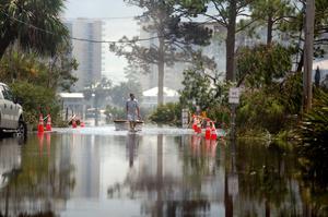 Hurricane Sally causes massive flooding on Gulf Coast