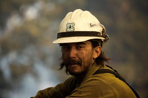 On the frontlines of the West Coast wildfires
