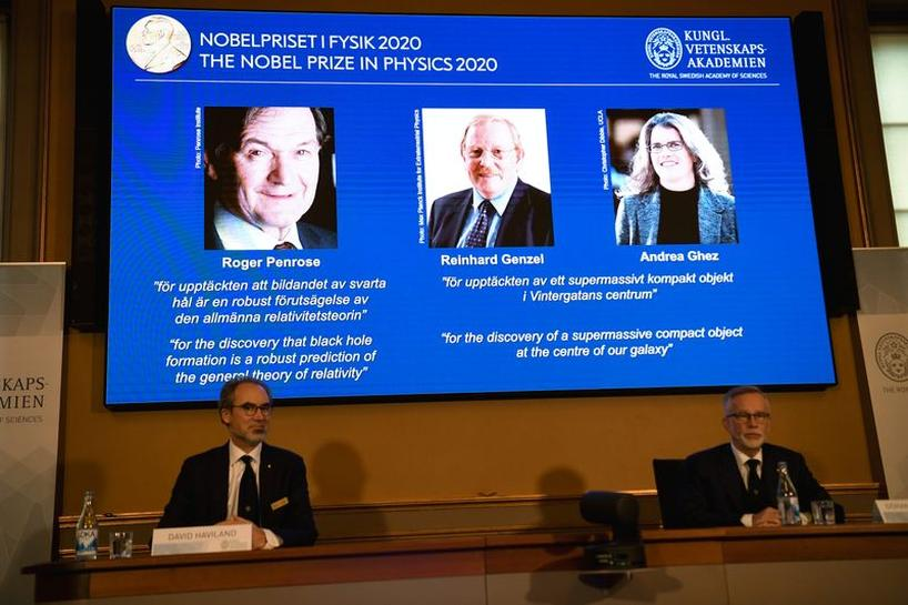 Black hole discoveries win 2020 Nobel Prize in Physics | Reuters