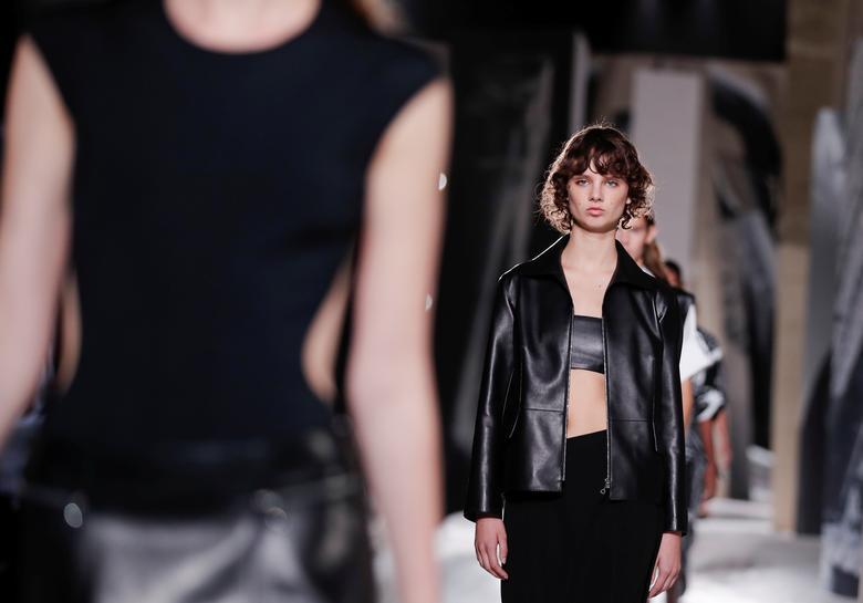 Nadege Vanhee-Cybulski for Hermes. REUTERS/Benoit Tessier
