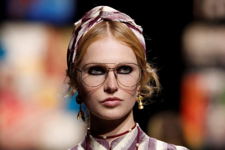 Maria Grazia Chiuri for Dior. REUTERS/Benoit Tessier