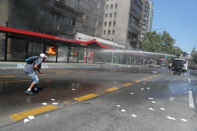 Protests against Columbus Day in Latin America