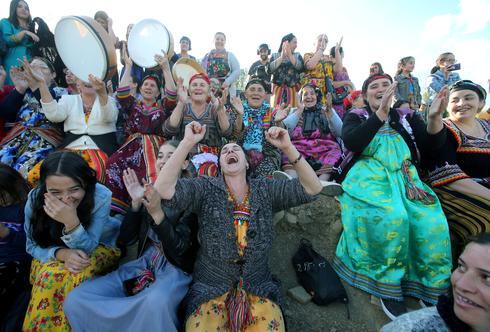 Algerian women push for more rights at Berber soccer tournament