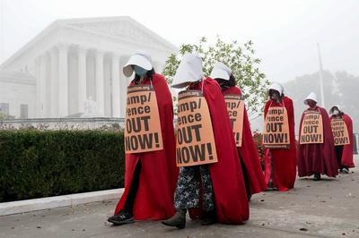 Protests and boycotts for Trump's Supreme Court pick