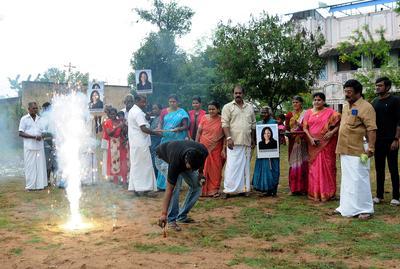 Kamala Harris' ancestral Indian village celebrates her historic win