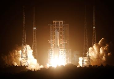 China calls launch a success as robotic spacecraft heads to moon
