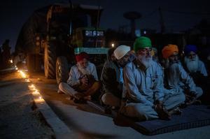 Indian farmers protest farm laws