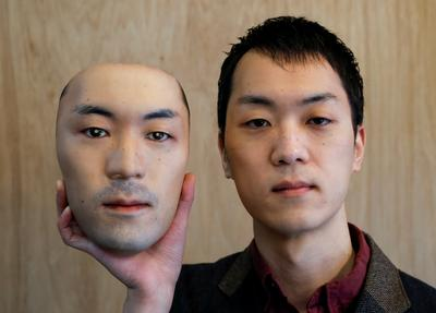 Hyper-realistic masks go on sale in Japan