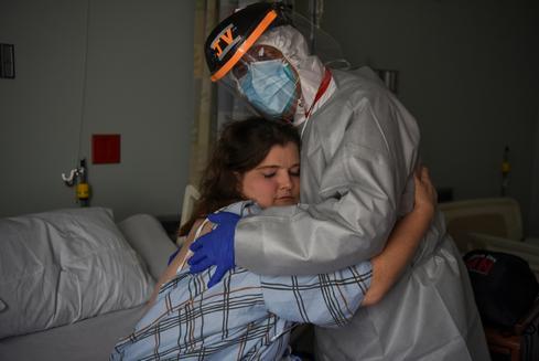 Pictures of the year: America's coronavirus outbreak
