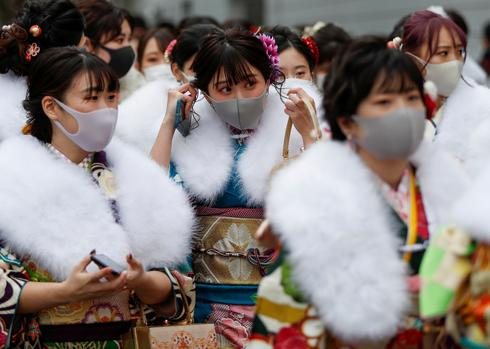 Japanese youth celebrate Coming of Age Day under COVID's shadow