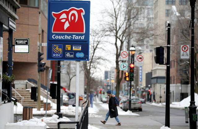 A Couche-Tard convenience store is seen in Montreal, Quebec, Canada January 13, 2021.  REUTERS/Christinne Muschi