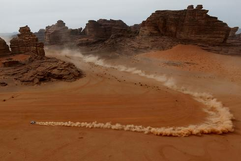 Off-road racers compete in the grueling Dakar Rally