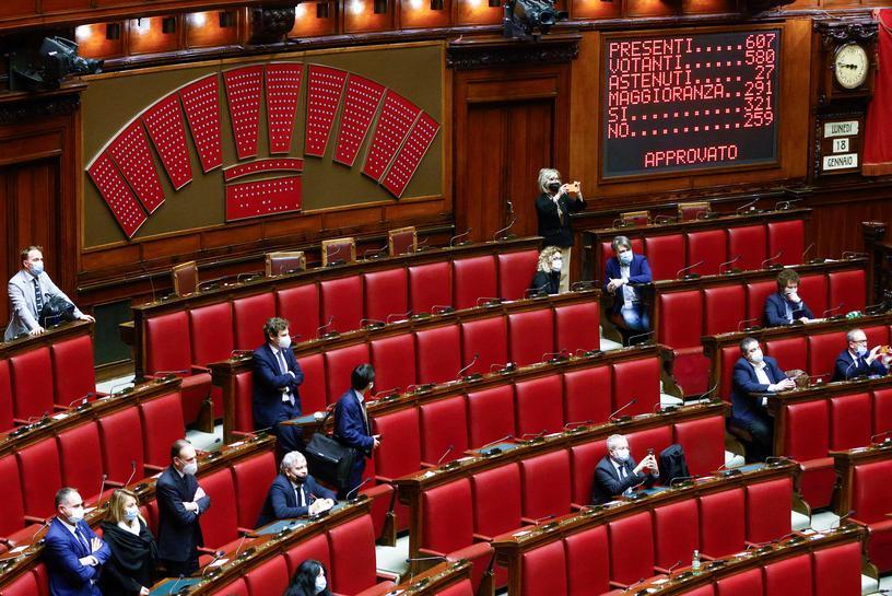 イタリア下院、コンテ内閣の信任投票可決 上院ではあす実施 | Reuters