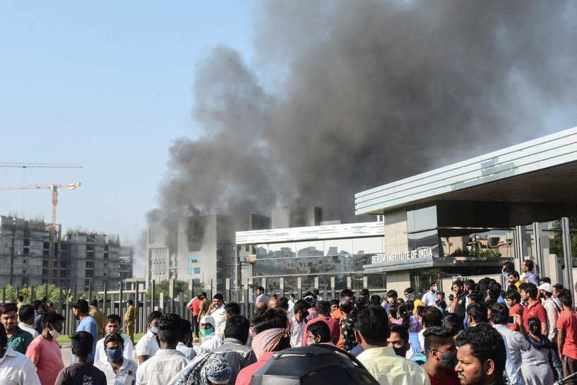 Five People Killed After Fire Breaks Out at India's Serum Institute