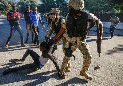 Haitians protest as constitutional crisis escalates