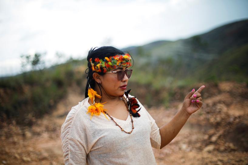 reuters.com - Stephen Eisenhammer - In Brazil, an indigenous woman joins Bolsonaro in fight for mining