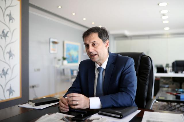 Tourism Minister Harry Theocharis. Britons welcome to holiday in Greece with or without vaccine, minister says | Reuters