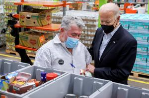 Biden visits Texas after devastating winter storm