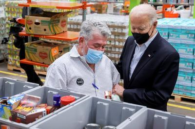 Biden visits Texas after devastating winter storm