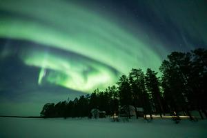 The dancing Northern Lights
