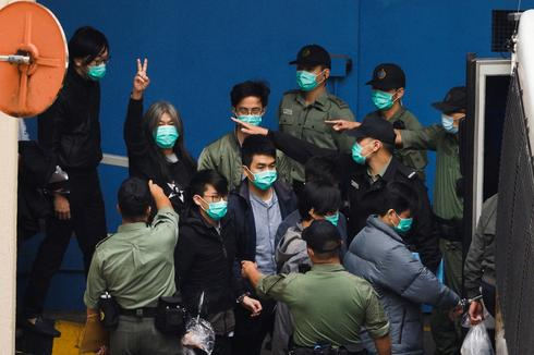 Marathon bail hearings for 47 Hong Kong democracy activists