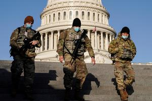Security tight at Capitol after police warn of possible militia attack