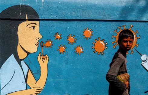Art of the pandemic: COVID-inspired street graffiti