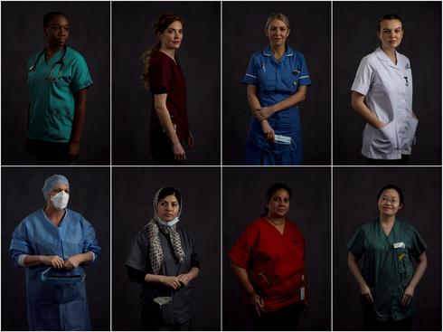 Women of the NHS fighting on Britain's COVID frontline