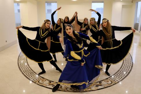 Women create community of dance in Iran