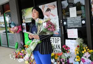 Mourning and fear over anti-Asian racism after Atlanta spa shootings