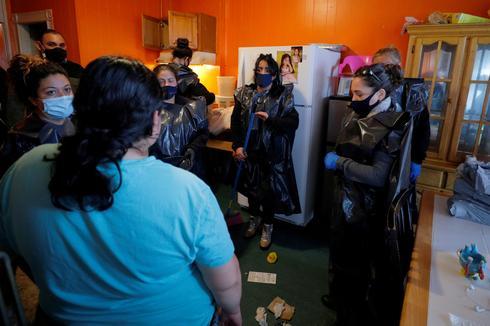 Despite moratorium, residents of Boston suburb hard-hit by COVID face eviction