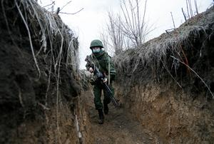 On the line of separation in eastern Ukraine