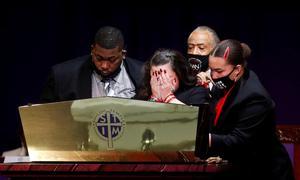 Hundreds mourn Daunte Wright, Black man killed by Minnesota police