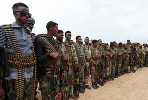 Anti-president Somali soldiers begin returning to barracks