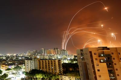 Under the Iron Dome: Israelis takes cover amid Hamas rocket barrage