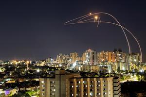 Israel's Iron Dome intercepts rockets from Gaza