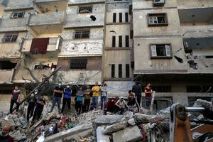 In pictures: Israel-Gaza conflict rages