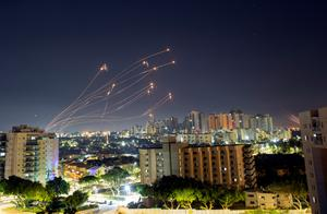 Israel's Iron Dome intercepts rockets from Gaza