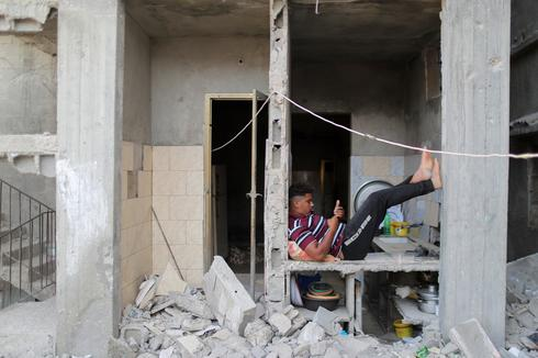 Living amid the rubble in Gaza