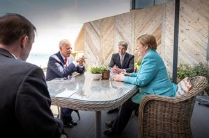 World leaders and activists descend on Cornwall for G7 summit