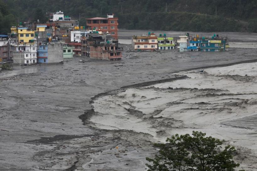 Flash Floods Kill 10 People in Bhutan, Seven People Missing in Nepal