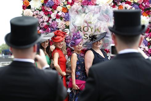 Masks, hats and horses at the Royal Ascot