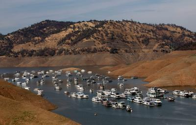 Extreme drought hits western U.S.