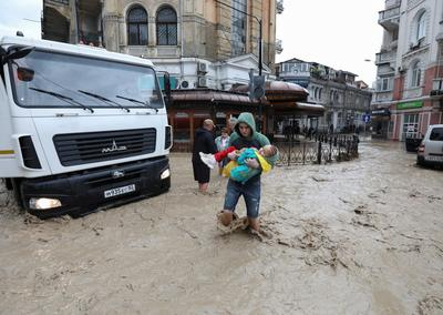 Russian-annexed Crimea declares state of emergency over floods