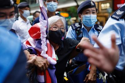 Security tight in Hong Kong on handover anniversary